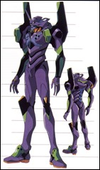 Evangelion Unit-01 _front and back views_